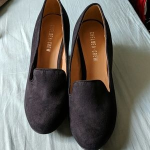 Never worn, Chelsea Crew Loafer Wedges